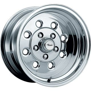 15 inch 15x7 Pacer Stroker Polished Wheel Rim 4x4 25 4x108 20