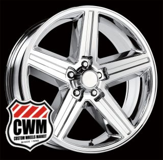 20x8 IROC Z Chrome Replica Wheels Rims 5x4 75 for Chevy Camaro 82 92