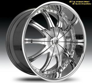 Lexani CS 2 Land Range Rover Kumho 275 30 275 30 24 Wheels Rims Tires