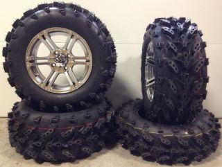 ITP SS212 14 Wheels Platinum 27 Swamp Lite Tires Polaris Sportsman