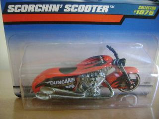 Hot Wheels 1999 Red Scorchin Scooter 1075