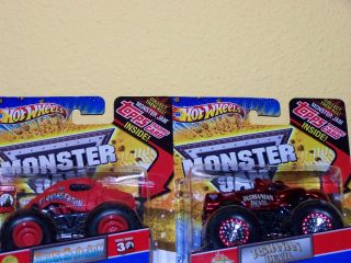 Hot Wheels 2012 Monster Jam Taz Crushstation 30th