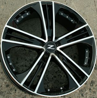 Zinik Z31 22 Black Rims Wheels Honda Accord 03 Up 22 x 8 5 5H 42