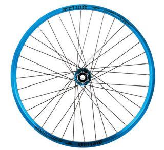 OUTLAW 32 hole WHEEL SET 150mm BLUE wheelset welded RIMs DH XC FR NEW