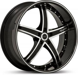 18 inch 5x112 Black Wheels Rims 5 Lug Audi A3 A4 A5 A6 A8 Volkswagen