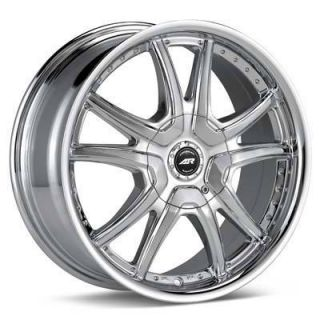 16 inch American Racing Chrome Rims Wheels 16x7 5x100 Awesome Deal