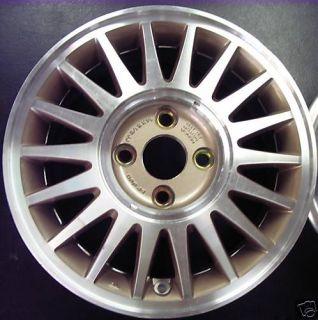 Honda Prelude Turbine Aluminum Wheel Rim 91 Original Factory OEM 63809