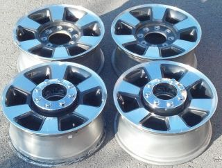2006 12 Ford F250 F350 Factory 18 Wheels Rims OEM 3843 BC34 1007 AA