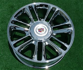 Cadillac Escalade Platinum Chrome Exact GM Style 22 inch Wheels