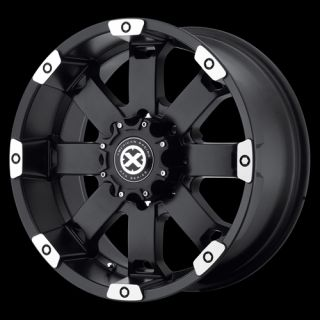 ATX 185 CRAWL 5X135 NAVIGATOR FORD F150 EXPEDITION BLACK WHEELS RIMS