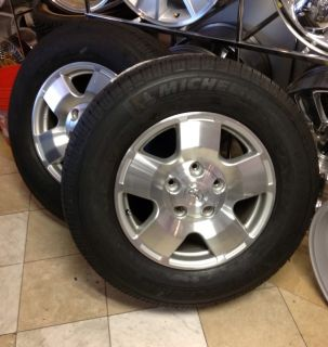 Toyota Tundra 18 Rims Wheels with New Michelin Tires