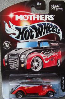 2002 Hot Wheels Mothers Moms Pro 34 Red