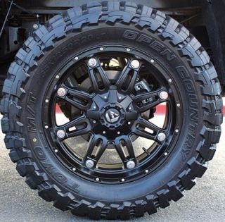 20 Fuel Hostage Rims 33x12 50x20 Toyo Open Country MT