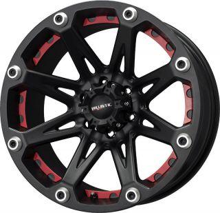 22 Ballistic Wheels Jester Black Rims 8 Lug Ford F150 F250 Excursion