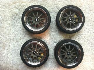 GMP 1 18 Scale Kinesis Wheels Rims Tires