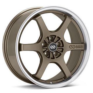 16 Enkei SR6 Bronze Rims Wheels 16x7 38 5x100 Neon SRT Prius Corolla
