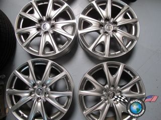 10 Infiniti G37 Coupe Factory 18 Wheels Rims OEM 73716 N078 875 JU44 A