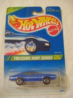 1995 Hot Wheels Olds 442 Treasure Hunt 1 of 12 L K N W