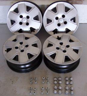 Ford Focus Rims Wheels Covers Lug Nuts Lug Caps 15x6 4 Bolt Very Light