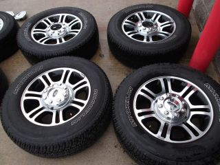 20 Ford F250 F350 Platinum Edition Wheels Tires Rims Michelin