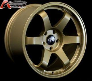 Rota Grid 17x9 5x114 3 42 73 1 Hub Gold Rims Wheels