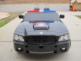 Dodge Charger Police Cruiser 12 Volt Power Wheels Ride On