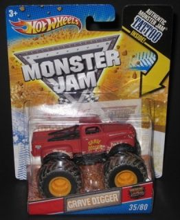 HOT WHEELS Monster Jam Grave Digger Tattoo Series 35 of 80 1 64 scale