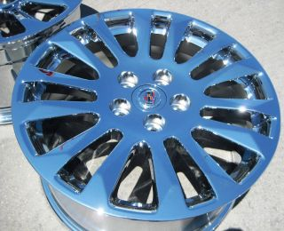 18 Factory GM Cadillac cts Coupe Chrome Wheels Rims 2010 2013