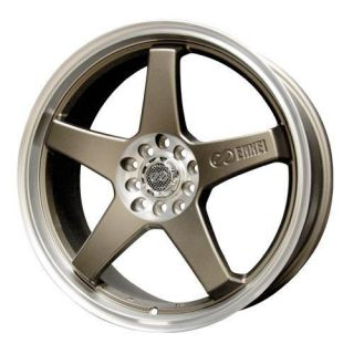 18 Enkei EV5 Bronze Rims Wheels Civic RSX Eclipse XB
