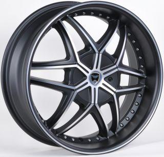 GWG G32 20 Mat Black Wheels Rims Cadillac DTS XLR XLRV STS STSV cts