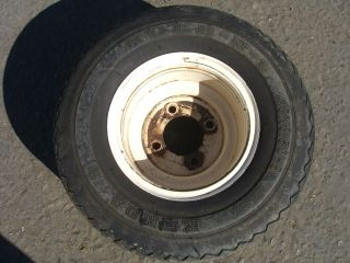Solid Rubber golf cart rims wheels with tires ez go club car yamaha