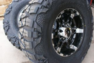18 inch XD Spy Wheels Rims Nitto Mud Grappler Tires 33