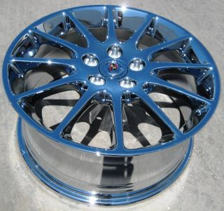 18 FACTORY GM CADILLAC STS CTS DTS DEVILLE ELDORADO CHROME WHEELS RIMS