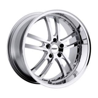 18 TSW Cadwell Chrome Rims Wheels 18x8 35 5x100