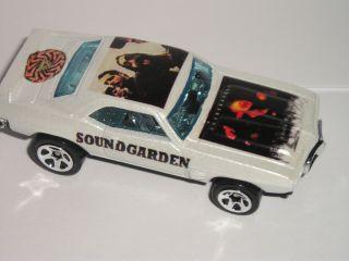 Hot Wheels Soundgarden 1969 Pontiac Firebird Trans Am Music Custom