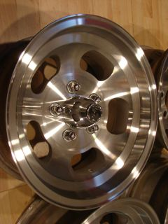 Ansen Sprint Slot Mags Rims Wheels GM 5x4 75 Aluminum Corvette Camaro