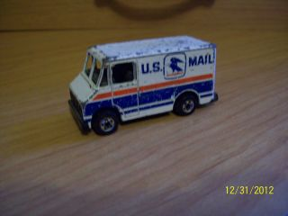 Hot Wheels U s Mail Truck