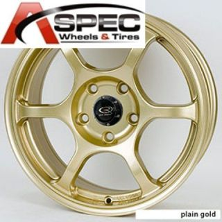 Rota Boost 17x7 5 5x100 ET45 Gold Wheels Rims