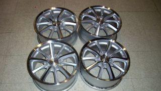 16 x 7 Wheels Rims Alum Chrome Viper 45 5 Lug 4 Nice Cadillac
