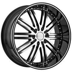 22 inch Menzari Z08 Black Wheels Rims 5x114 3 Q45 M45 FX35 Murano