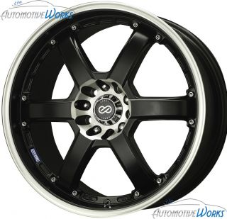 PKR 4x100 4x114 3 4x4 5 42mm Matte Black Rims Wheels inch 16
