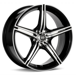 17 Enkei STR5 Rims Wheels 17x7 42 5x114 3 Mazda3 SPEED3 Civic RSX MX6