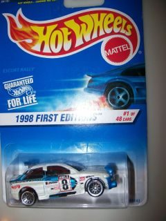 First Editions Escort Rally 637 Hot Wheels Collector 1 of 48 18143 NIP