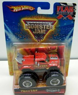 Hot Wheels Pillage Idiot Monster Jam Truck 46 75 Flag