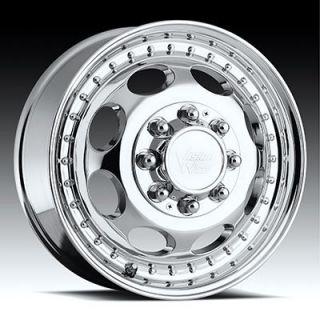 19 5 Chrome Wheels Dually Dodge 3500 Cummins Tires 225 70 19 5 Ready