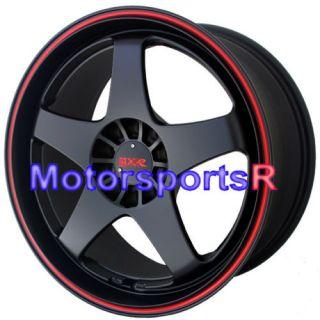 17 XXR 962 Black Red Stripe Rims Toyota Matrix Vibe Le