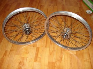 SCHOOL BMX PEREGRINE HP 48S WHEELS, HARO MASTER RIMS, Hutch Trick Star