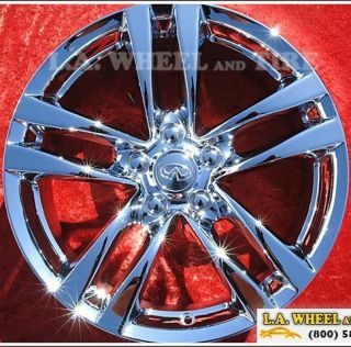 Infiniti G37 Coupe Chrome Factory Wheels Rims Exchange 73702