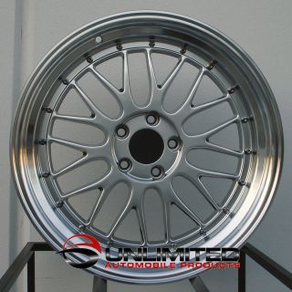 18 LM Staggered Wheels Rims Fit Mazda RX7 RX8