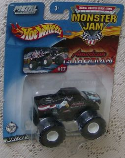 HOT WHEELS 2002 MONSTER JAM ERROR Truck AMERICAN GUARDIAN NEW MIP FREE